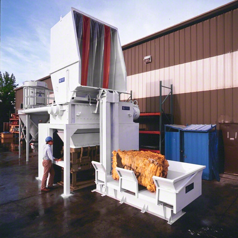 Plastic and Textile Shredding Systems