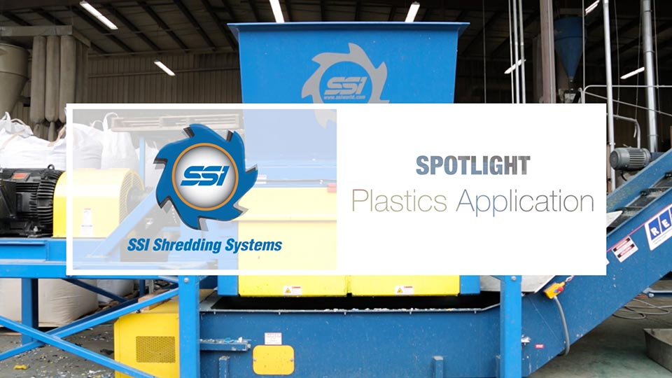 SSI's Plastics Application Spotlight - Uni-Shear® SR500