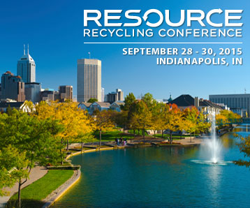SSI Will Exhibit at the 2015 Resource Recycling Conference in Indianapolis