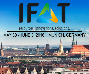 Visit SSI's Booth at IFAT 2016