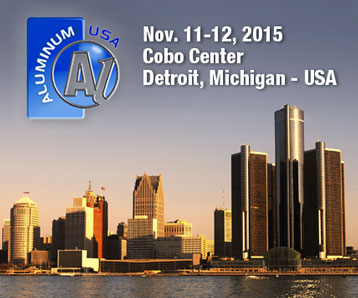 SSI Will Exhibit at the 2015 Aluminum USA Trade Show in Detroit, Michigan