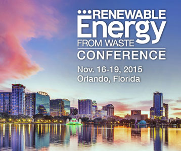 SSI Will Exhibit at the 2015 Renewable Energy From Waste Conference