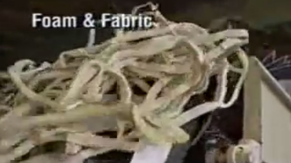 TEXTILES: Foam & Fabric (SR500)