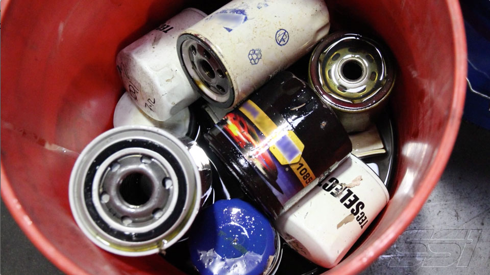 RECYCLE: Used Oil Filters (M85)