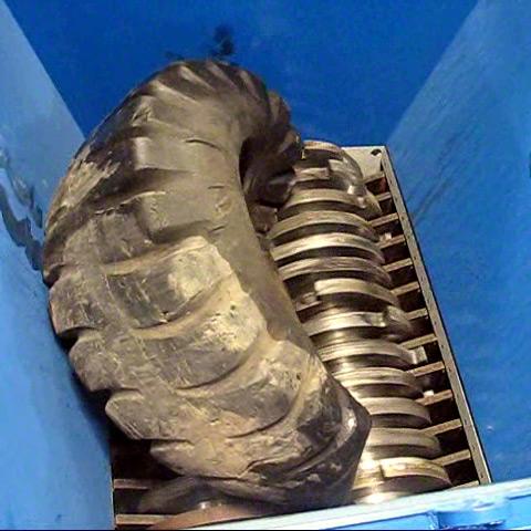 Ssi Dual Shear M160 Two Shaft Industrial Shear Shredder